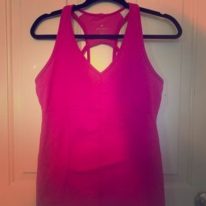 Athletic workout tank